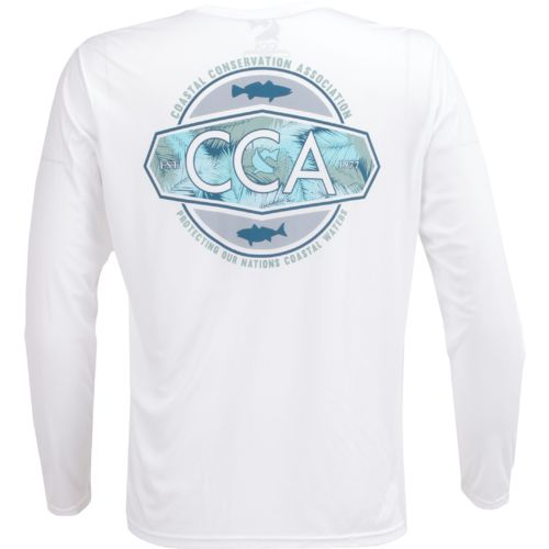 CCA Men's Protecting Our Nation's Coastal Waters Moisture Management Long Sleeve T-shirt