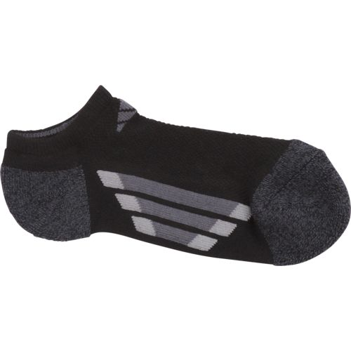 adidas Boys' Vertical Stripe No-Show Socks - view number 3