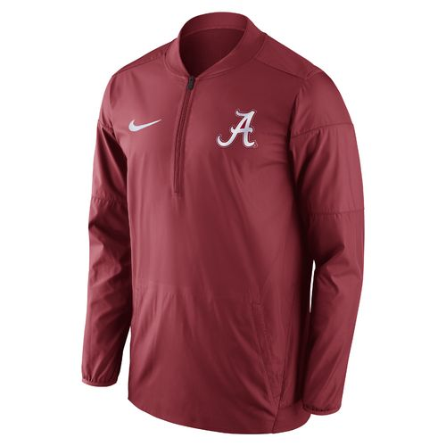 Nike™ Men's University of Alabama Lockdown 1/2 Zip Jacket