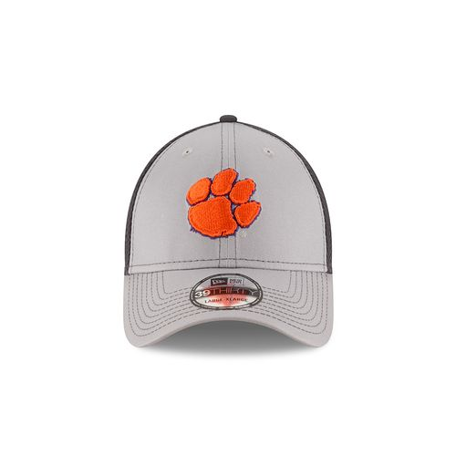 New Era Men's Clemson University Grayed Out Neo 39THIRTY Cap - view number 6