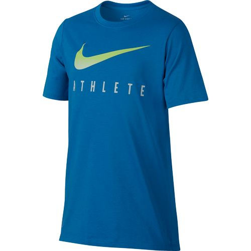 Display product reviews for Nike Boys' Swoosh Athletic Heat T-shirt
