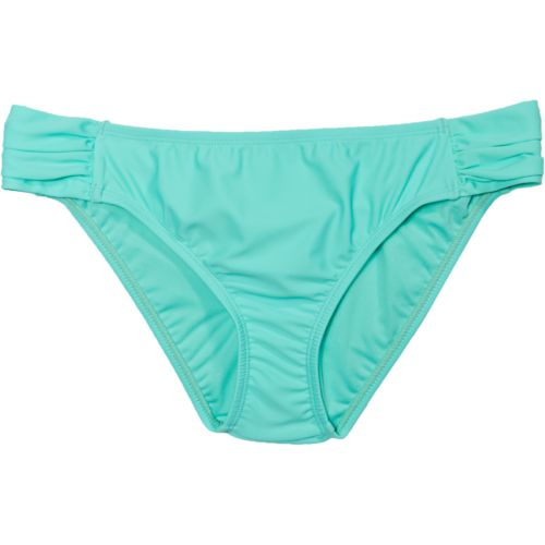 Island Soul Juniors' Sundance Solid Tab Side Pant Swim Bottom