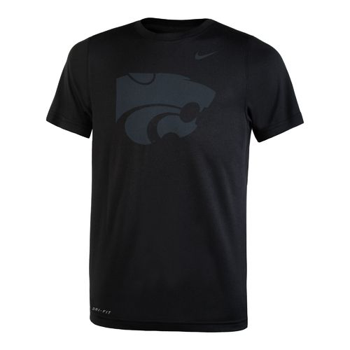 Nike Boys' Kansas State University Dri-FIT Legend 2.0 Short Sleeve T-shirt