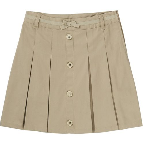 French Toast Girls' Bow Front Pleated Uniform Scooter Skirt