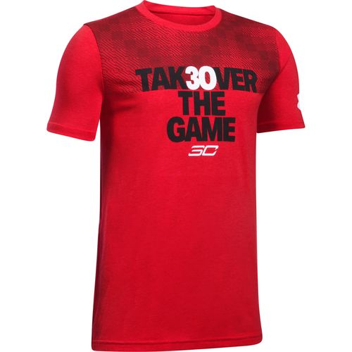 Under Armour Boys' Stephen Curry Takeover Short Sleeve Basketball T-Shirt