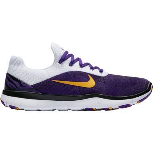 Nike Men's Louisiana State University Free Trainer V7 Week Zero Training Shoes - view number 1