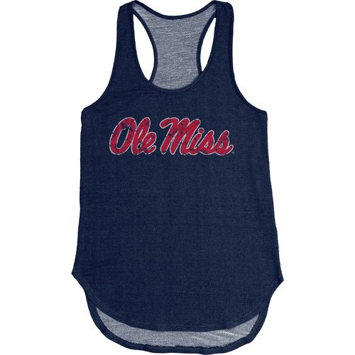 Blue 84 Women's University of Mississippi Nala Premium Terry Tank Top - view number 1