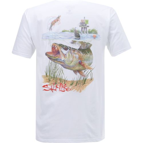 Salt Life Men's Trout Attack Short Sleeve T-shirt