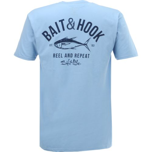 Salt Life Men's Bait and Hook Short Sleeve T-shirt - view number 1