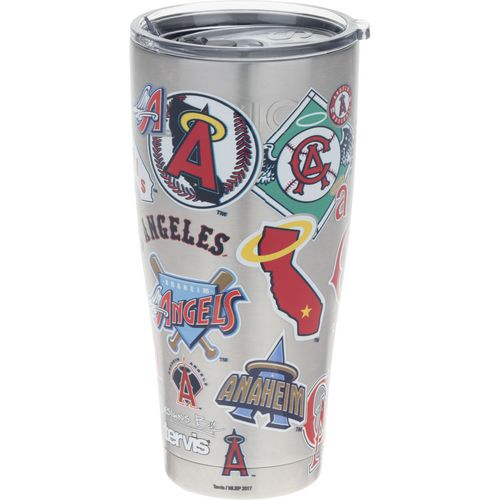 Tervis Los Angeles Angels All Over 30 oz Stainless-Steel Tumbler - view number 1