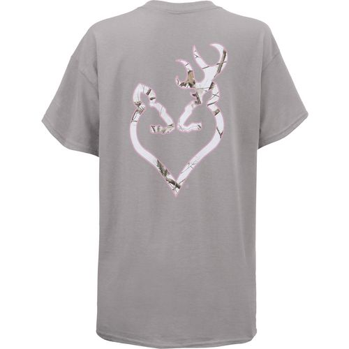 Browning Women's Realtree APS Buckheart Classic Outdoor Graphic T-shirt