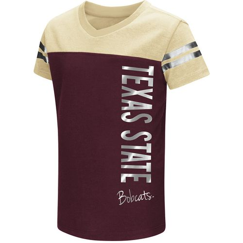 Colosseum Athletics Toddlers' Texas State University Cricket T-shirt