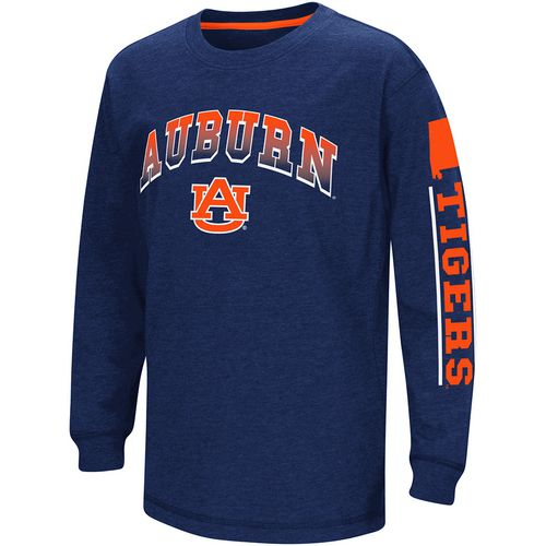Colosseum Athletics Boys' Auburn University Grandstand Long Sleeve T-shirt