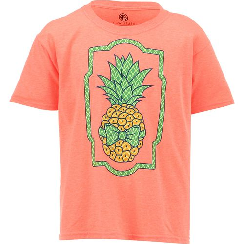 Raw State Girls' Pineapple T-shirt