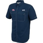Columbia Sportswear Men's University of Mississippi Low Drag Offshore Short Sleeve Shirt - view number 3
