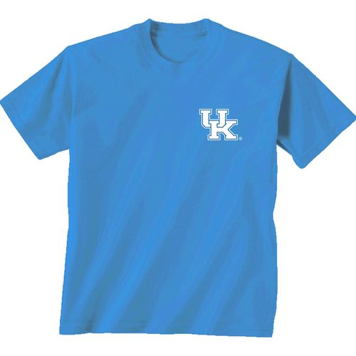 New World Graphics Women's University of Kentucky Comfort Color Initial Pattern T-shirt - view number 2
