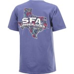 New World Graphics Women's Stephen F. Austin State University Comfort Color Puff Arch T-shirt - view number 2