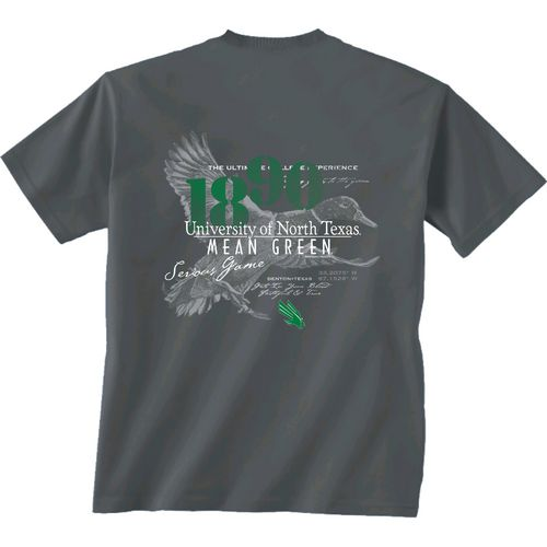 New World Graphics Men's University of North Texas In Flight T-shirt