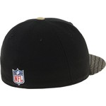 New Era Men's New Orleans Saints Onfield Sideline '17 59FIFTY Cap - view number 3