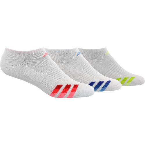 adidas Women's Cushioned Variegated No-Show Socks 3 Pack