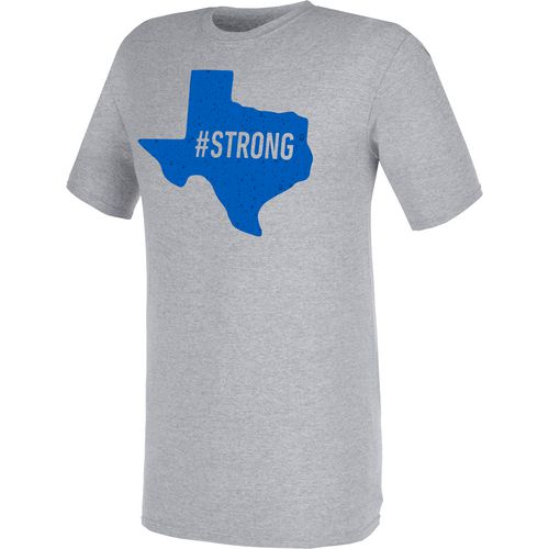 Raw State Adults' Texas Strong Grey T-Shirt