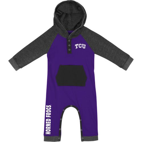 Colosseum Athletics Infant Boys' Texas Christian University Truffle Ruffle Onesie
