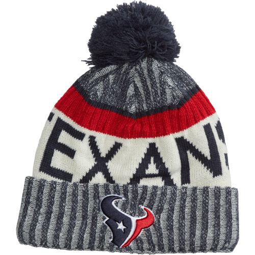 New Era Men's Houston Texans Onfield Sport Knit Cap