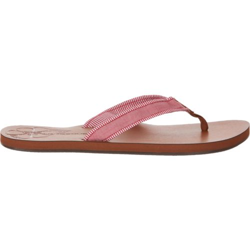 Display product reviews for O'Rageous Women's Piped Strap Sandals