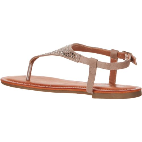 Austin Trading Co. Women's Rhinestone Thong Sandals - view number 3