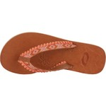 O'Rageous Women's Belted Pom Thong Sandals - view number 4