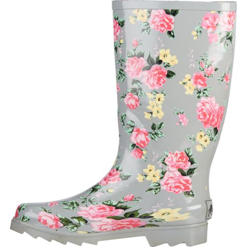 Austin Trading Co. Women's Floral Rubber Boots - view number 2