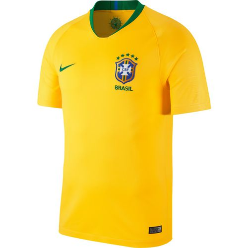 Nike Men's Brasil CBF Stadium Home Replica Soccer Jersey