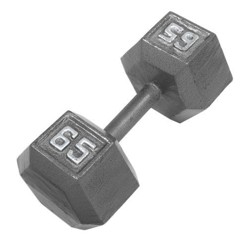 CAP Barbell 65 lb. Solid Hex Dumbbell