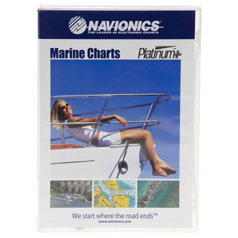 Navionics Platinum+ Central Gulf of Mexico Map Software