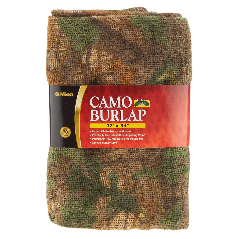 Allen Company Oakbrush Camo Burlap