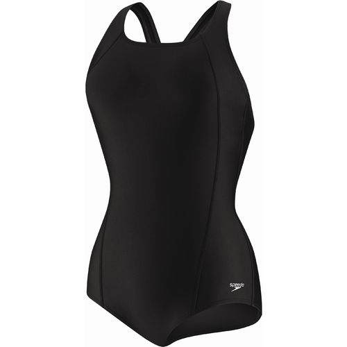 Speedo Women's Solid Ultraback Conservative Swimsuit