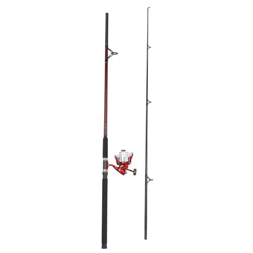 Pinnacle Red Metal 12' Saltwater Bigwater Spinning Rod