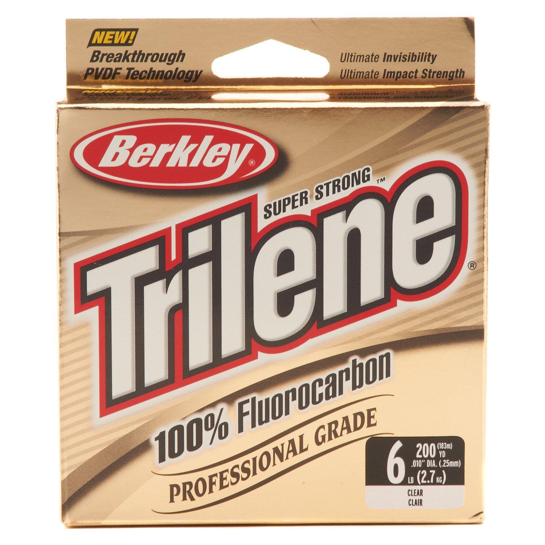 Berkley® Trilene 200-Yard Professional-Grade 100% Fluorocarbon Fishing Line