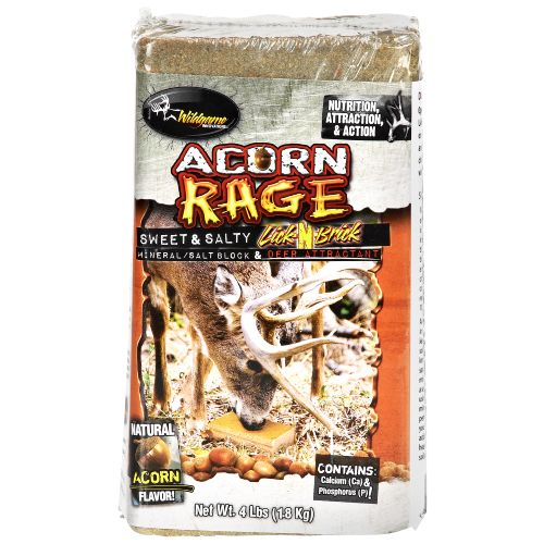 Display product reviews for Wildgame Innovations Acorn Rage 4 lb. Lick Brick