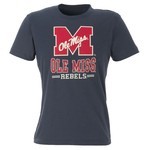 Colosseum Athletics Men's University of Mississippi Backfield Short Sleeve T-shirt
