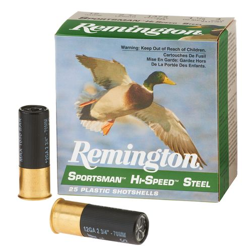 Remington Sportsman Hi-Speed Steel 12 Gauge Shotshells