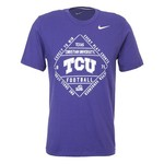 Nike Men's Texas Christian University Football Diamond T-shirt