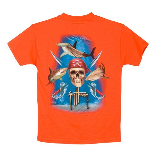 Image for Guy Harvey Boys' Pirate Shark T-shirt from Academy