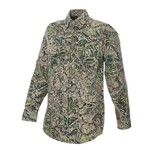 Brush Country Camouflage Men's Long Sleeve Heavyweight Field Shirt