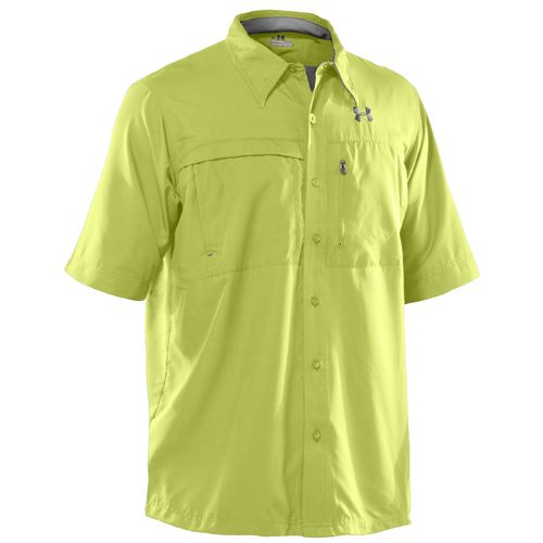 Academy under armour men 39 s flats guide ii button down for Button down fishing shirts