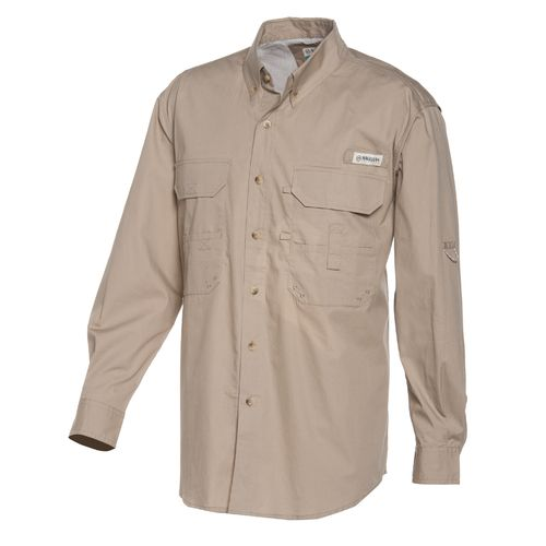 Magellan outdoors men 39 s lake fork long sleeve fishing for Magellan fishing shirts