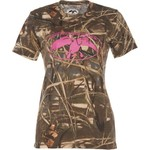 Duck Commander Women's Max 4 Camo T-shirt