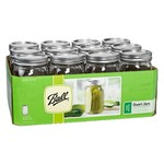 Ball® 32 oz. Wide-Mouth Jars with Lids and Bands