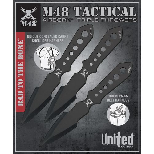 M48 Throwing Knives 3-Pack