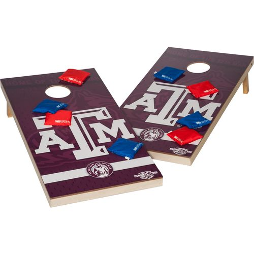 Wild Sports Team Tailgate Bean Bag Toss XL Shield Game (Available in Texas  A & M Georgia)